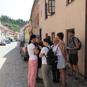Prohlídka židovské čtvrti v Třebíči